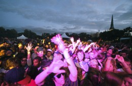 Crowd @ North Coast Music Festival 2010