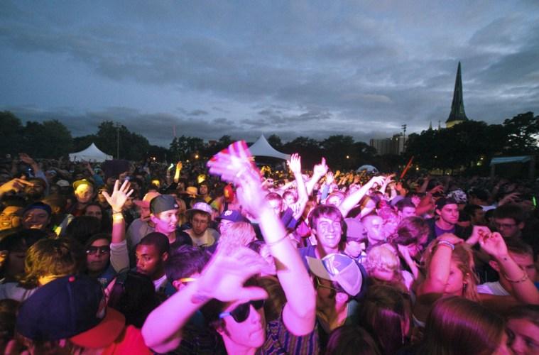 Crowd @ North Coast Music Festival 2010