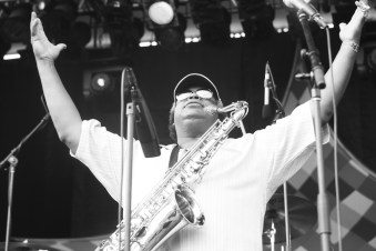 Dirty Dozen Brass Band @ North Coast Music Festival 2010