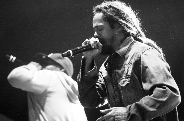 "Nas & Damian ""Jr. Gong"" Marley @ North Coast Music Festival 2010"