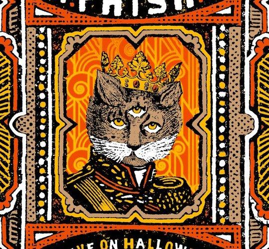 phish halloween poster