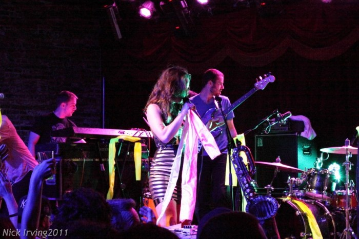 Rubblebucket @ Brooklyn Bowl, 8/19/11 (early show)