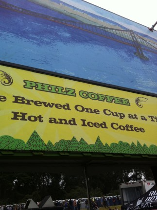 Philz Coffee @ Outside Lands 2011