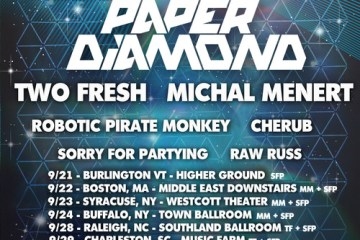 paper diamond turnt up tour