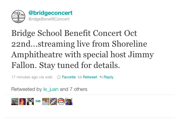 bridge school hosted by jimmy fallon