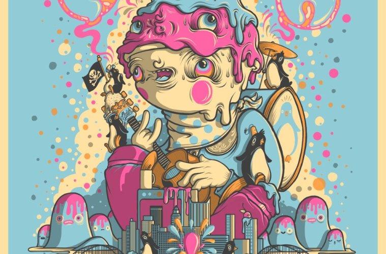 phish burgettstown pa poster