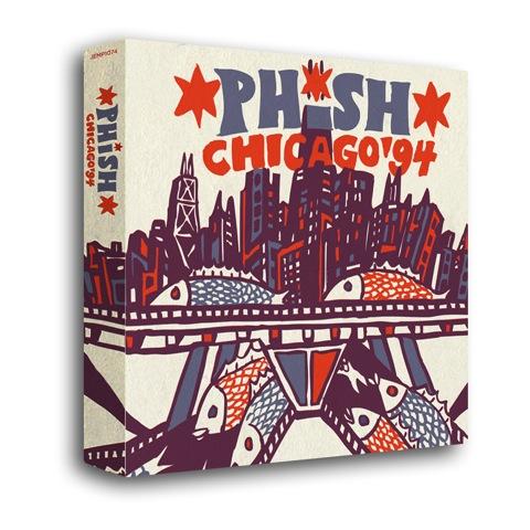 phish chicago box set