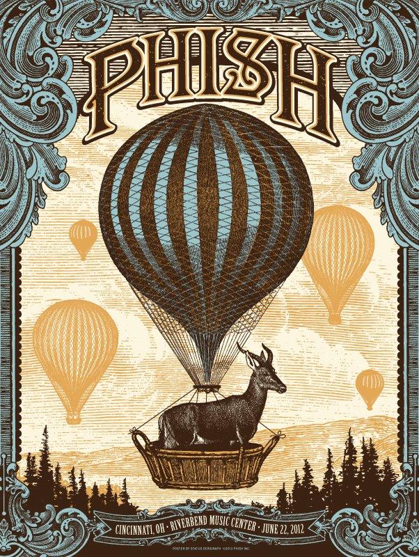 phish cincinnati poster