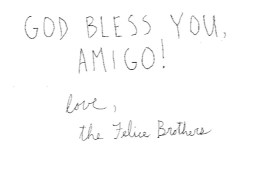felice bros god bless you