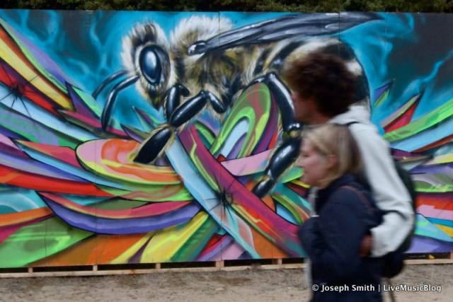 Graffiti Art @ Outside Lands 2012 || Photo © Joseph Smith