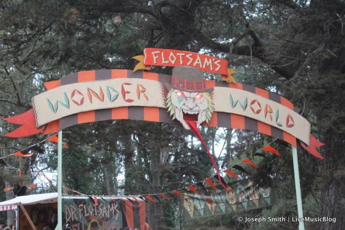 Flotsam's Wonder World @ Outside Lands 2012 || Photo © Joseph Smith