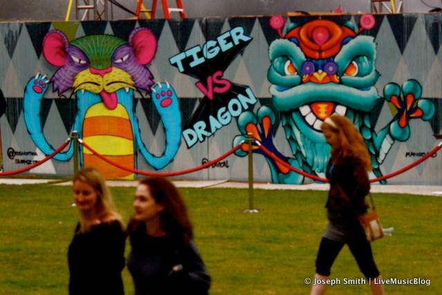 Graffiti Art @ Outside Lands 2012    Photo © Joseph Smith