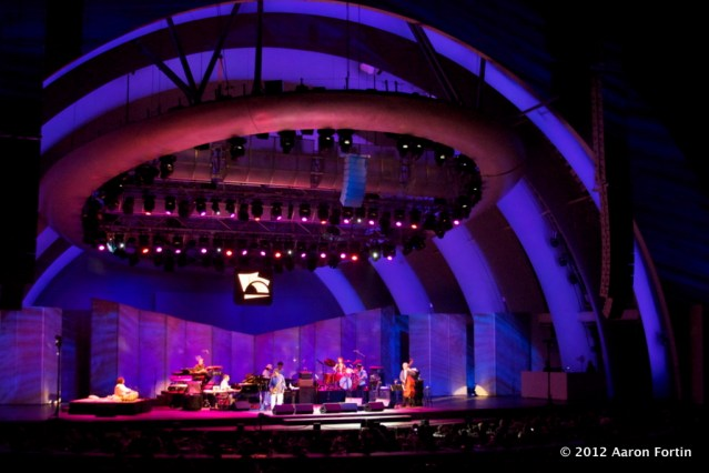 Hollywood Bowl 8/29/12 Celebrating Peace
