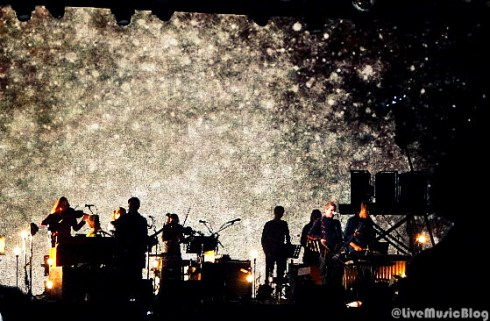 Sigur Ros @ Outside Lands 2012 || Photo © Wesley Hodges