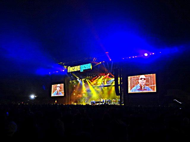 Stevie Wonder @ Outside Lands 2012    Photo © Wesley Hodges