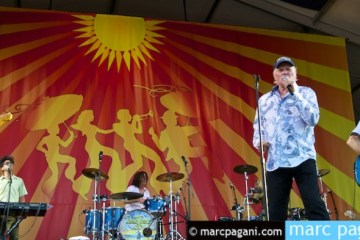 Beach Boys performing at Jazz Fest 2012