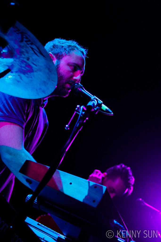 Local Natives Performing at the Bowery Ballroom