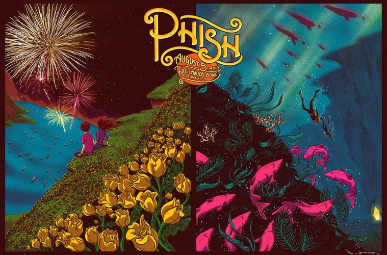 phish hollywood poster