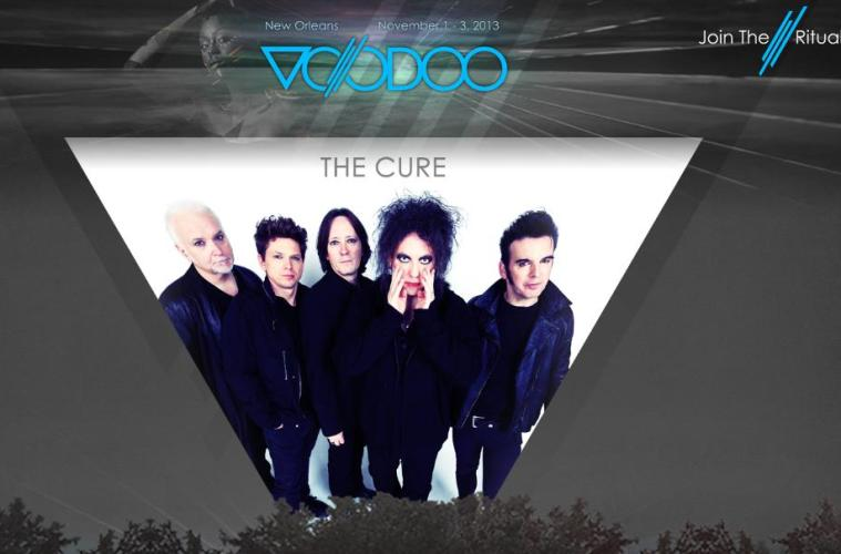 the cure at voodoo