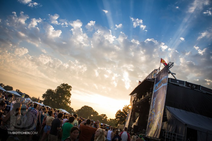 Sunset at LouFest