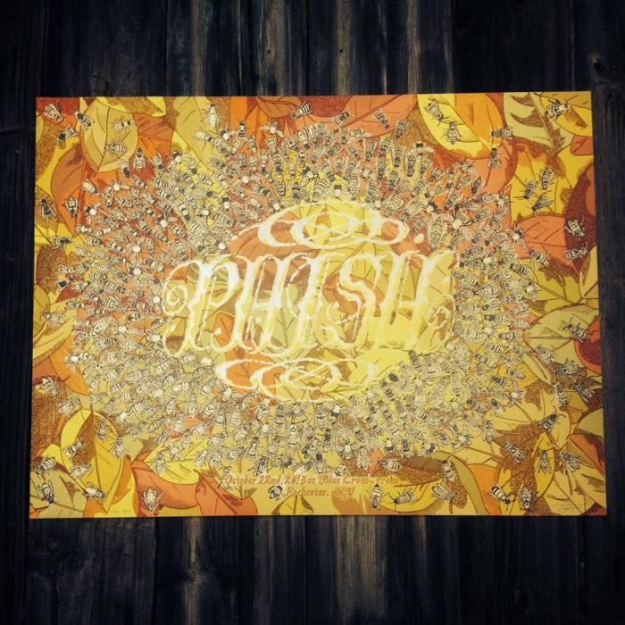 phish rochester poster
