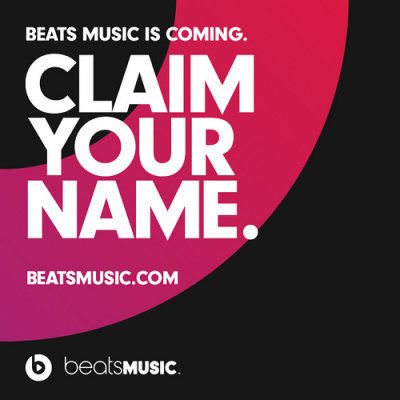 beats music reserve your name