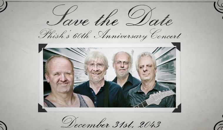 save the date phish 60th anniversary