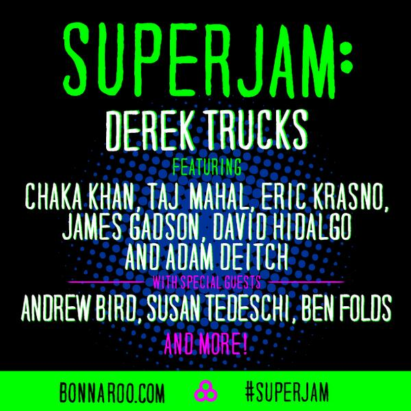 derek trucks superjam bonnaroo 2014