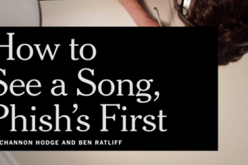 Video  How to Draw a Phish Song   NYTimes.com