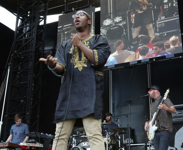 Bad Rabbits @ Roots Picnic 2014