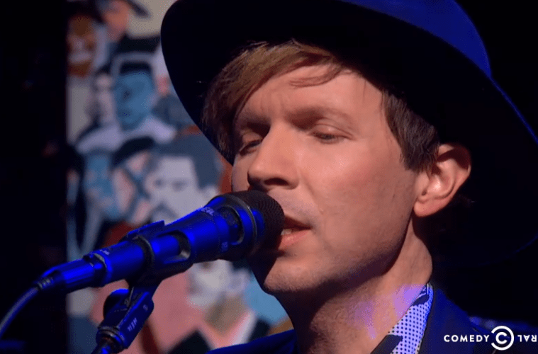 beck on colbert report