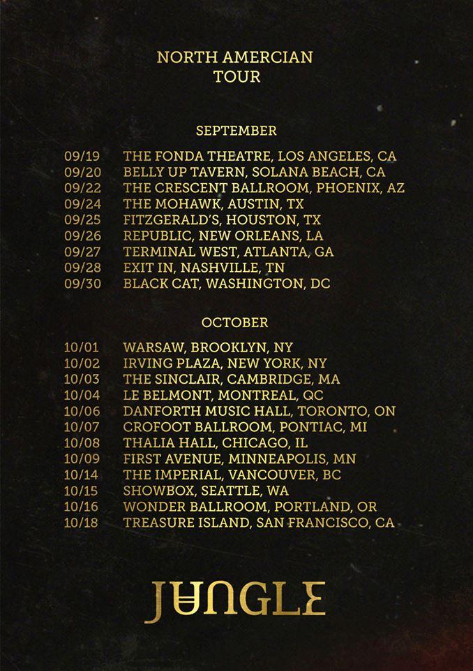jungle 2014 tour dates