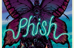 Phish @ The Forum poster in Inglewood, CA by Jeff Soto