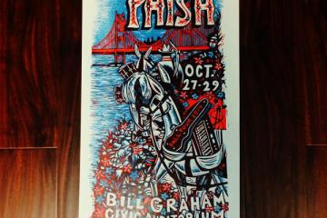 '14 Bill Graham Poster by Jim Pollock