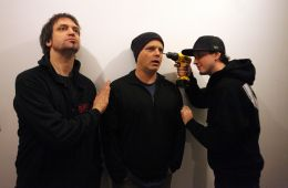 Skerik, John Medeski, & Adam Deitch = DRKWAV | Photo © Greg Aiello