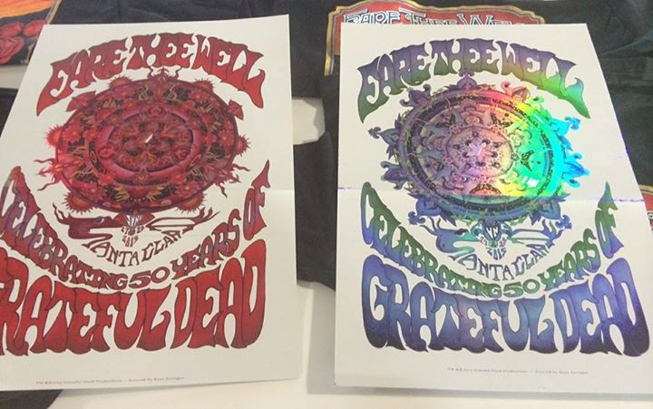 Fare thee well grateful dead santa clara roundup setlists