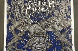 Phish NYE 2015-16 Run Poster by David Welker