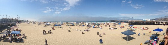 Calm Before Storm 4th of July 2013 Pismo Beach