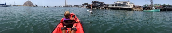 Morro Bay Harbor Panorama - Kayak Rentals