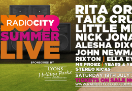 WHATS ON: Radio City Summer Live | Echo Arena | 18.07.15