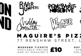 WHATS ON: Jump on Demand Festival   Maguire's Pizza Bar   26 – 28 June 2015