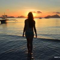 Ronda Walking into Sunset 2-002