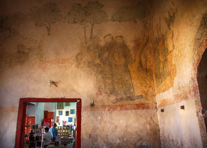 Fresco in Izamal