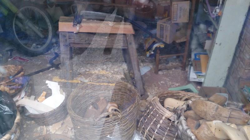 Clog makers shop - last real clog maker in Britain - Kington