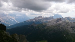 View from Rifugio Lagazuoi