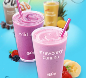 McDonald's B1G1 Smoothie, Frozen Lemonade or Frappe!!!