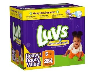 Amazon Diaper Deals: Luvs Diapers only $0.13/diaper!!!