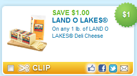 Great $1/1 Land O Lakes Coupon!!!