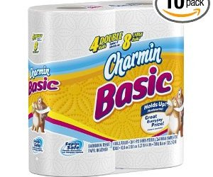 SUPER HOT!!! GO NOW! Amazon has Charmin Toilet Paper only  $19.62 for 40 rolls!!!!