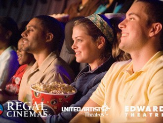 Groupon has a HOT deal on Regal Movie Tickets!!! Only $6.50 each….yay date night!